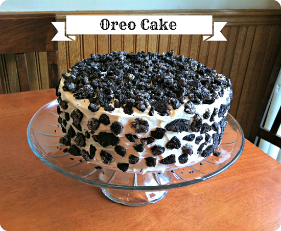 Oreo Cake Living My Full Life