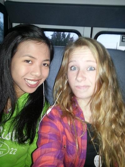 Hannah and Melissa