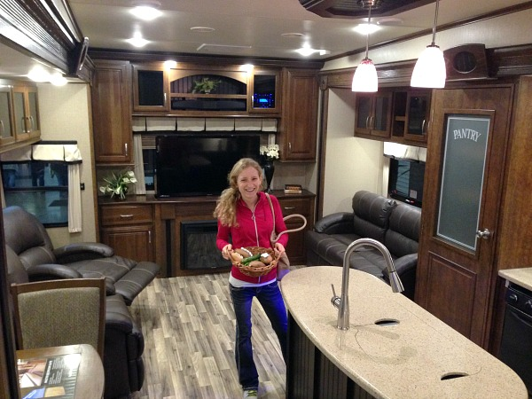 Just another photo inside an RV. That was fun.