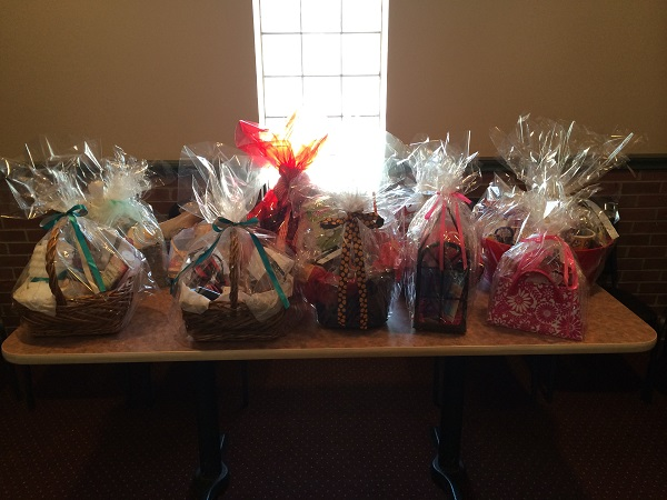 Bridal Shower Gift For Future Sister In Law : full of gift baskets that my mom, future mother-in-law, aunt, sister ...