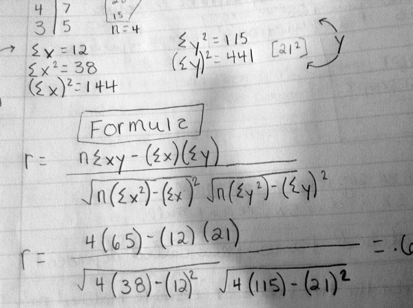 I have to know this formula by Monday.