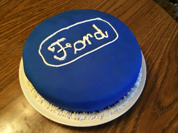 Ford Cake 1
