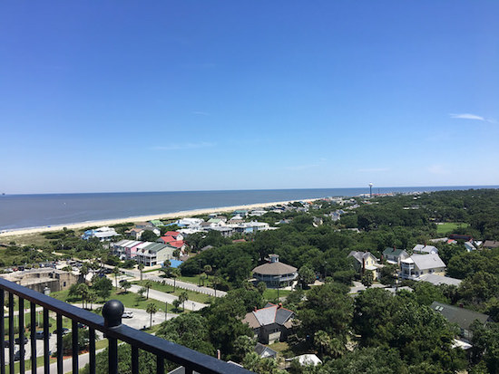 View from Tybee Island Lighthouse