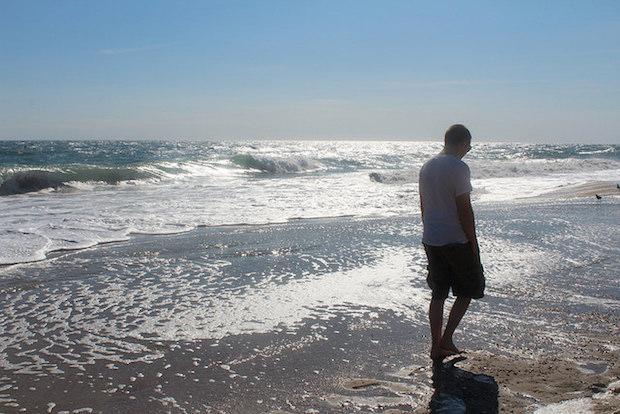 Jimmy on beach