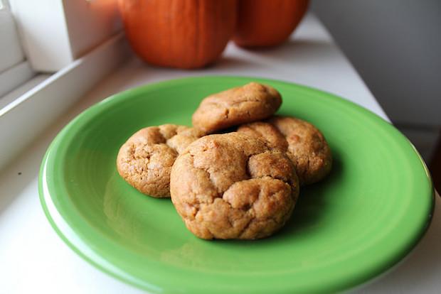 Pumpkin Spice Ginger Cookies