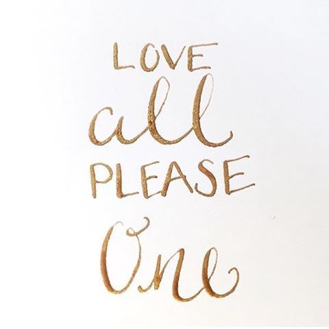 love-all-please-one