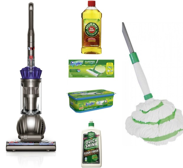 floor cleaning products mop vacuum swiffer Murphy's oil soap