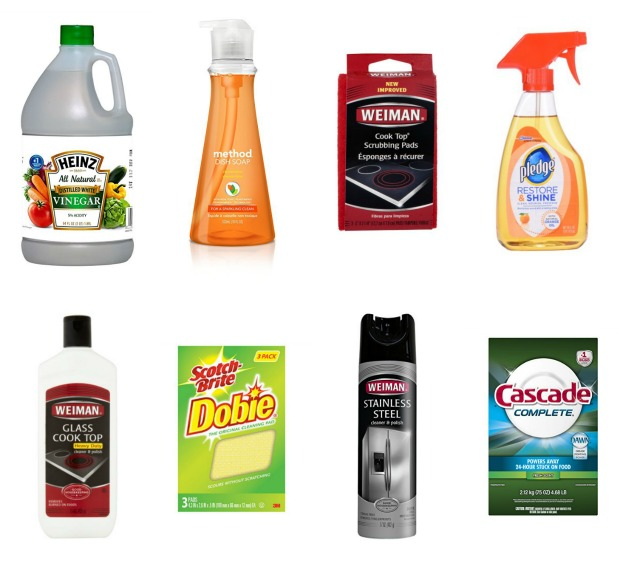 Cleaning My Kitchen: My Favorite Cleaning Products