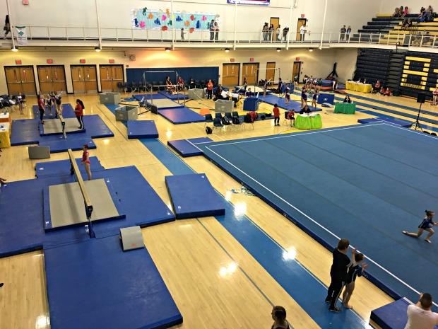gymnastics meet states