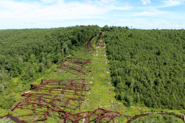 Kinzua Sky Walk Bridge