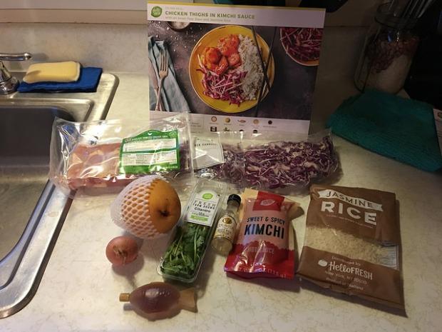 HelloFresh Kimchi Chicken