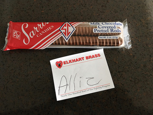 Sarris Candies Chocolate Covered Pretzel Rods