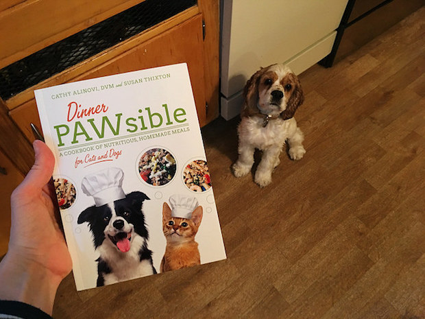 Dinner Pawsible pet cookbook