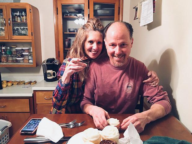 Cupcake taste testing