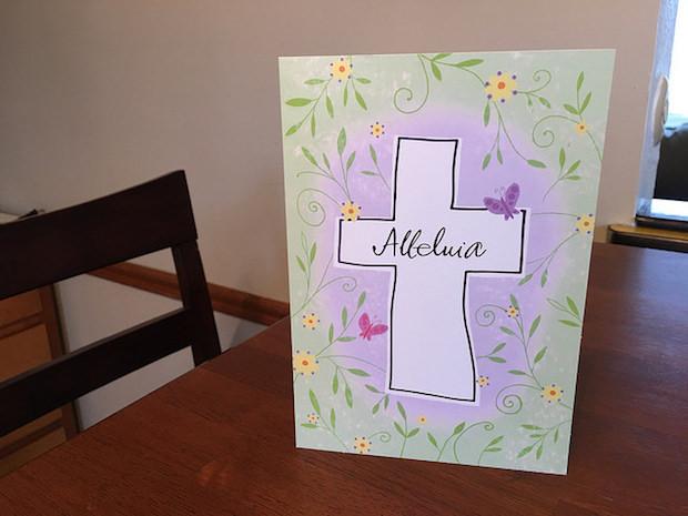 Hallmark Easter card