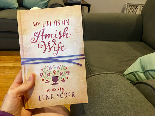 My Life as An Amish Wife: A Diary by Lena Yoder book on Amish Life