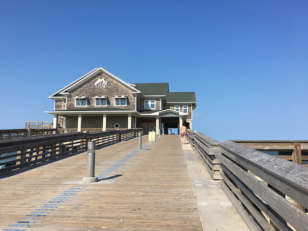 Jeanette's Pier in Outer Banks North Carolina