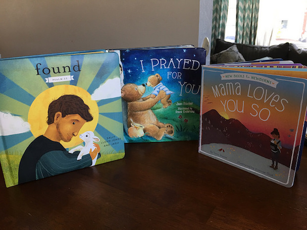Christian baby books Mama Love You So, Found Psalm 23 and I Prayed For You