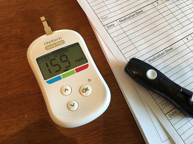 Blood sugar monitor for gestational diabetes