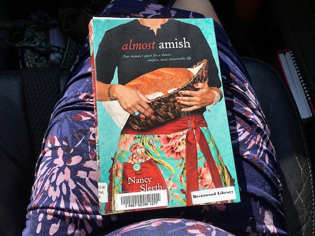 Almost Amish by Nancy Sleeth book