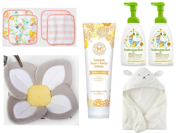 The best baby bath supplies for baby registry