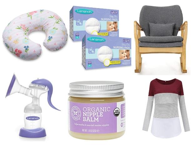 Baby nursing and feeding essentials