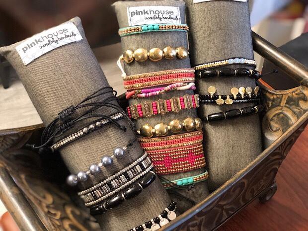 Pinkhouse bracelets