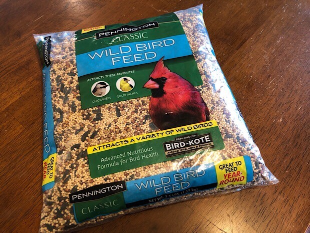 Bird feed for bird feeder