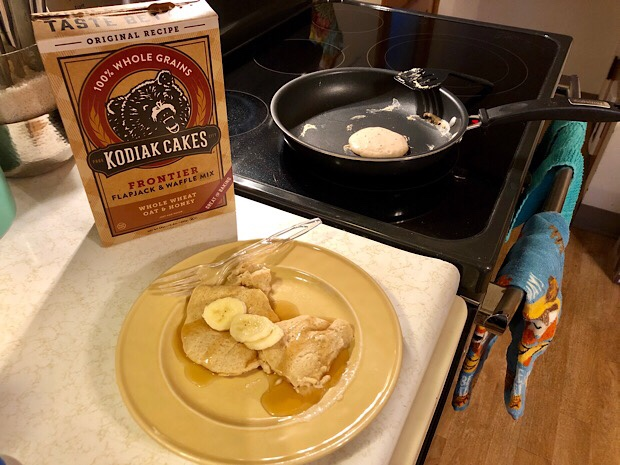 Kodiak Cake Pancake Mix Oat and Honey Whole Wheat