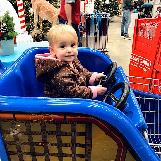 Lowes kids car cart