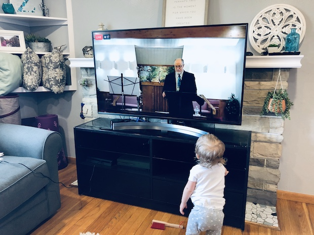 Sermon on TV