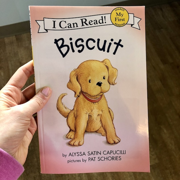 Biscuit I can read book