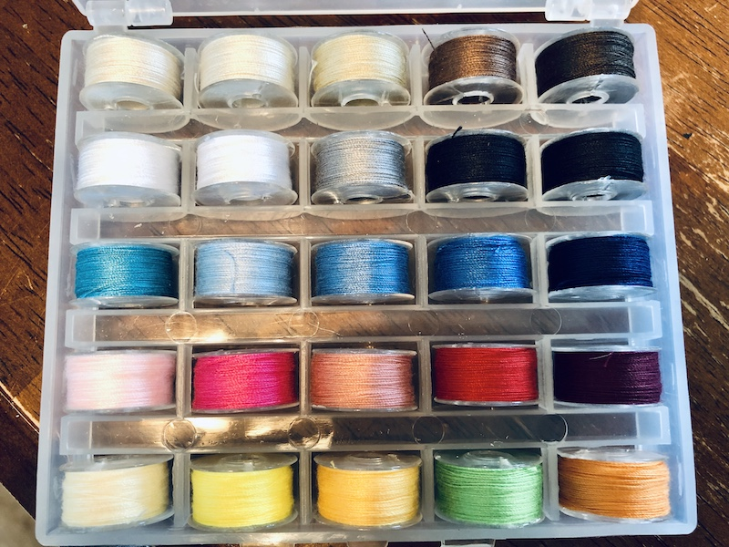Box of thread