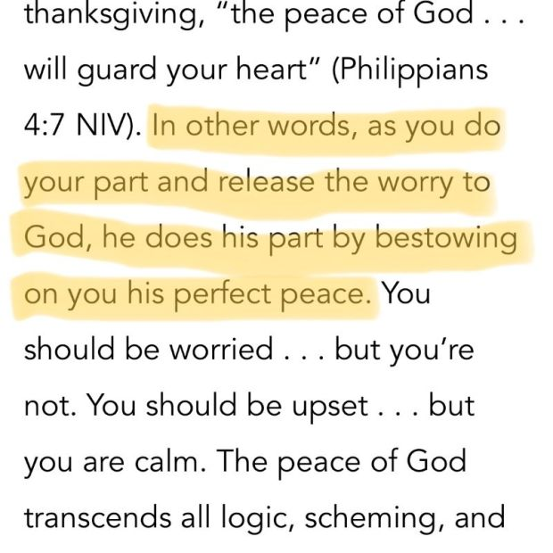 Philippians 4:7 reflection Anxious for Nothing