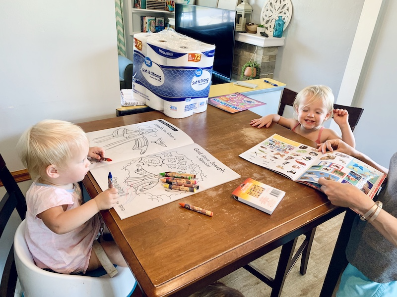 Homeschooling toddlers for preschool