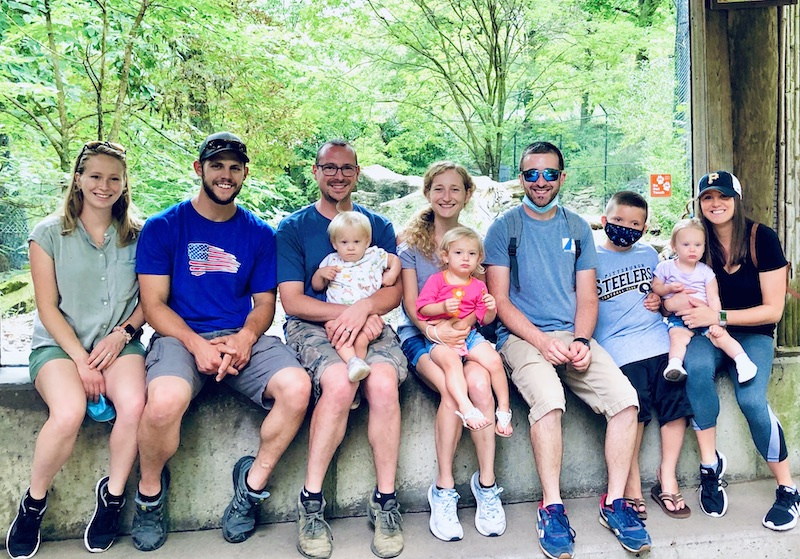 Family at the Pittsburgh Zoo