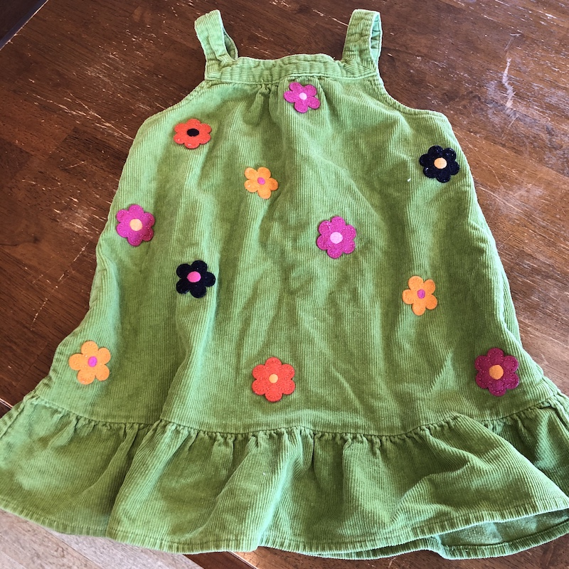 Gymboree toddler dress from thrift store