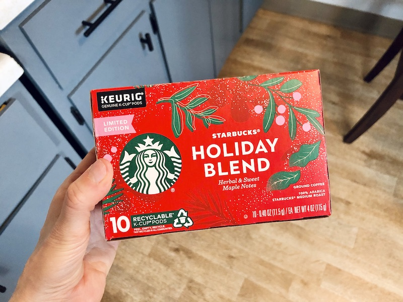 Starbucks Holiday Blend K Cups