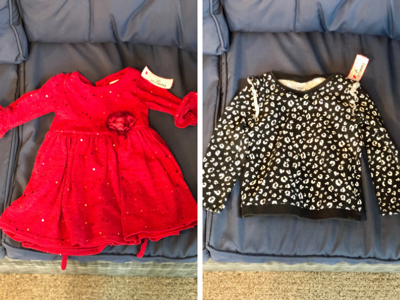 Thrifted toddler clothes