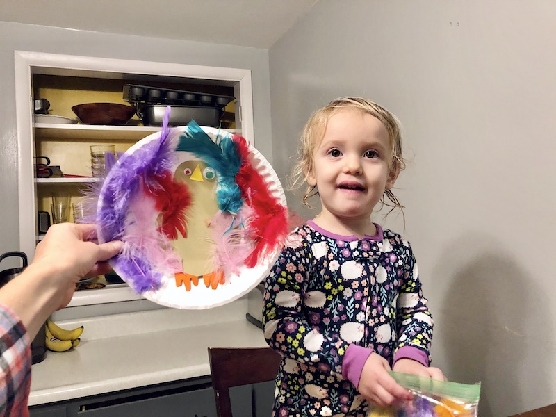 Toddler Thanksgiving craft