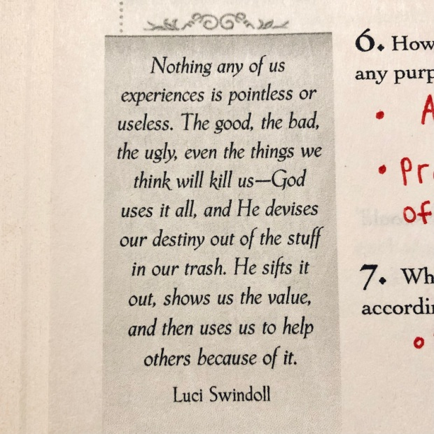 Quote by Luci Swindoll