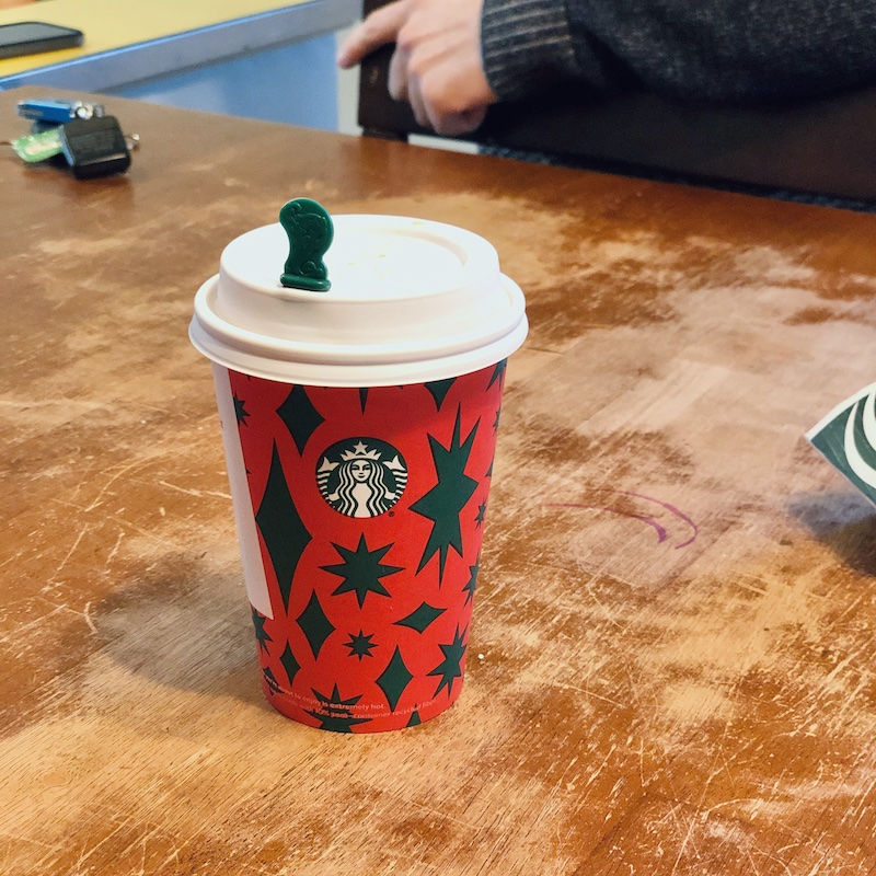 Starbucks holiday cup 2020