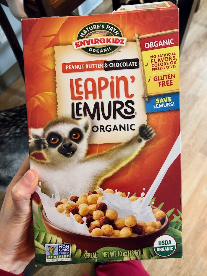 Nature's Path Leapin' Lemurs Cereal