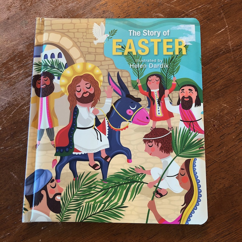 The Story of Easter board book.