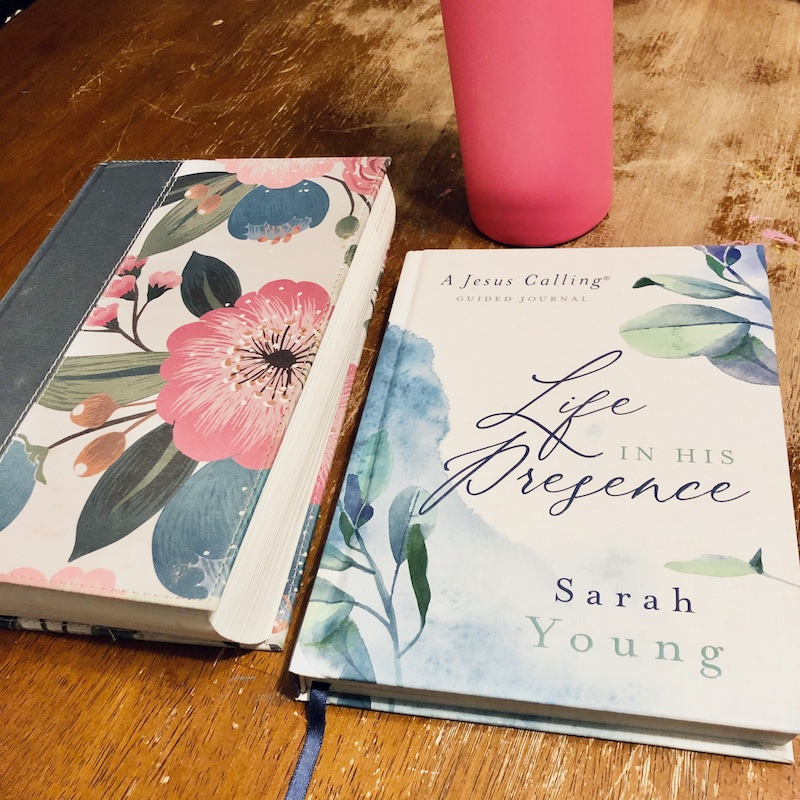 Life in His Presence by Sarah Young and Bible