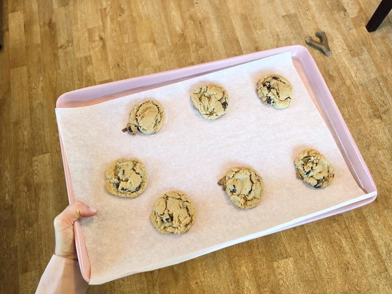 King Arthur Baking Company gluten free chocolate chip cookies